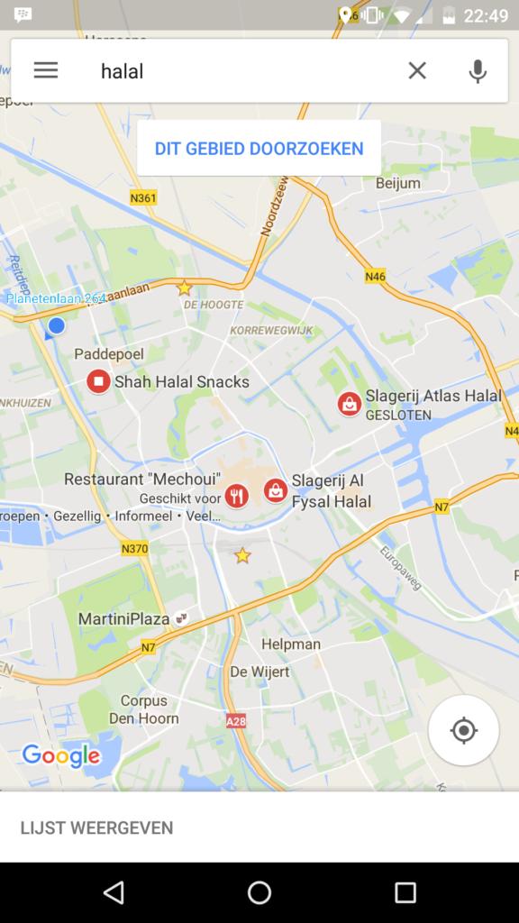 Restoran halal di groningen