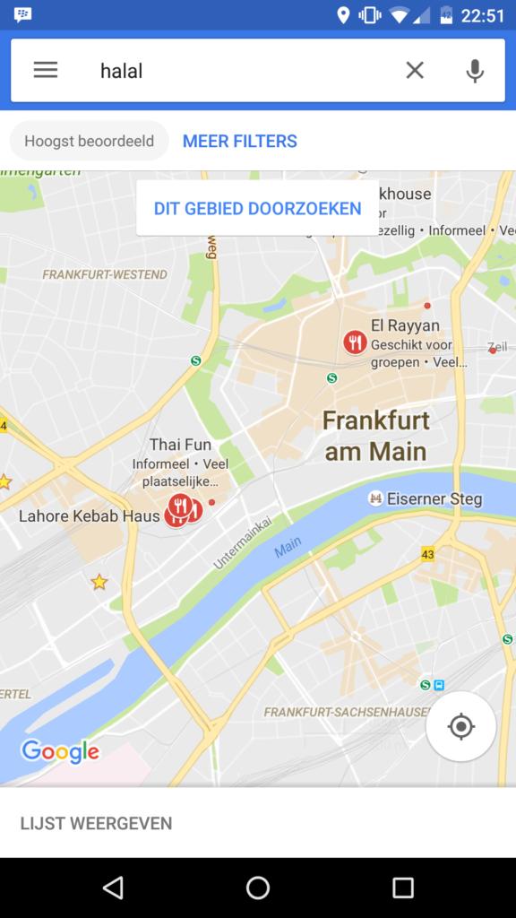 Restoran halal di frankfurt Jerman